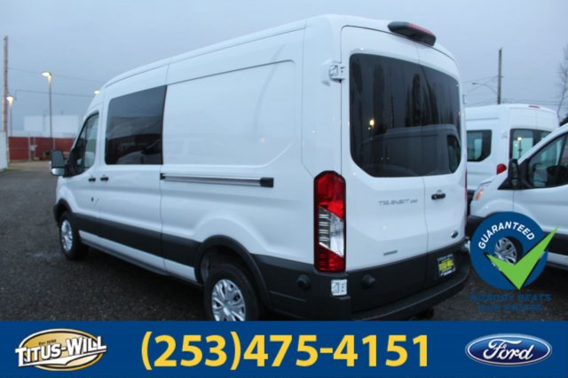 2018 Transit 250 Med Roof 4x2,  Empty Cargo Van #F80391 - photo 8