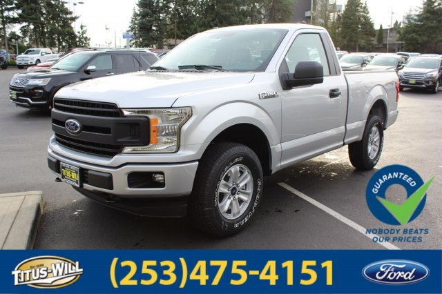 2018 F-150 Regular Cab 4x4, Pickup #F80416 - photo 1