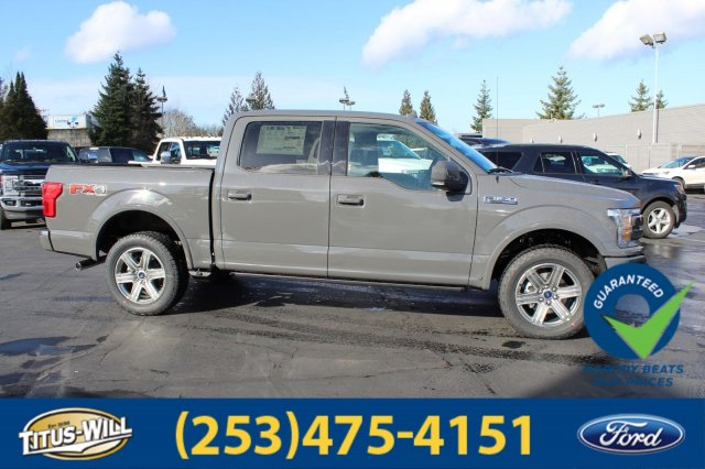2018 F-150 SuperCrew Cab 4x4, Pickup #F80488 - photo 5
