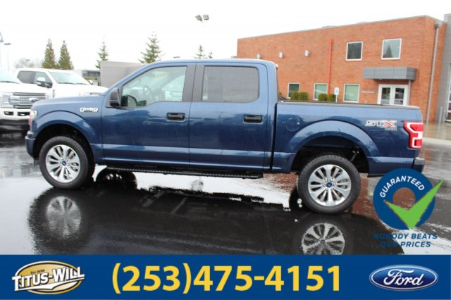 2018 F-150 Crew Cab 4x4, Pickup #F80528 - photo 7