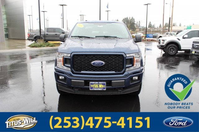 2018 F-150 Crew Cab 4x4, Pickup #F80528 - photo 8