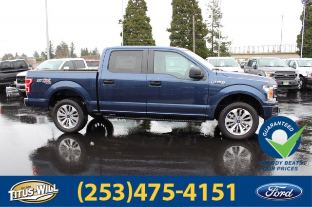 2018 F-150 Crew Cab 4x4, Pickup #F80528 - photo 4