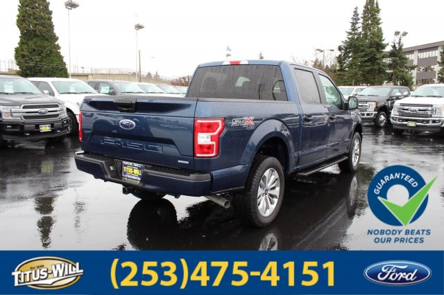 2018 F-150 Crew Cab 4x4, Pickup #F80528 - photo 5