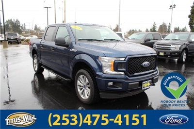 2018 F-150 Crew Cab 4x4, Pickup #F80528 - photo 3