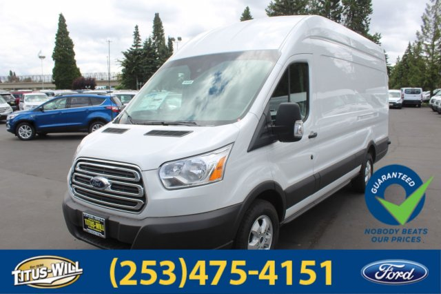 2018 Transit 350 High Roof 4x2,  Empty Cargo Van #F80900 - photo 1