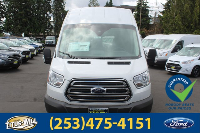 2018 Transit 350 High Roof 4x2,  Empty Cargo Van #F80900 - photo 5