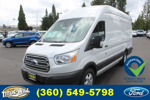 2018 Transit 350 High Roof 4x2,  Empty Cargo Van #F80900 - photo 7