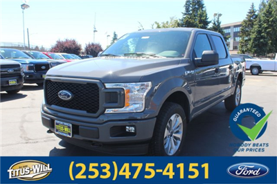 2018 F-150 SuperCrew Cab 4x4,  Pickup #F80936 - photo 1