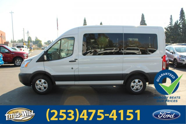 2018 Transit 150 Med Roof 4x2,  Passenger Wagon #F81161 - photo 3