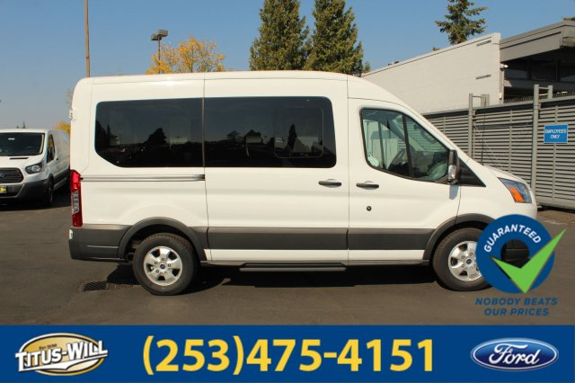2018 Transit 150 Med Roof 4x2,  Passenger Wagon #F81161 - photo 2
