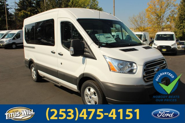 2018 Transit 150 Med Roof 4x2,  Passenger Wagon #F81161 - photo 4