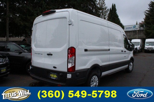 2018 Transit 350 Med Roof 4x2,  Empty Cargo Van #F81272 - photo 5