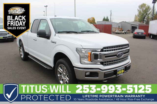 2018 F-150 Super Cab 4x4,  Pickup #F81345 - photo 3