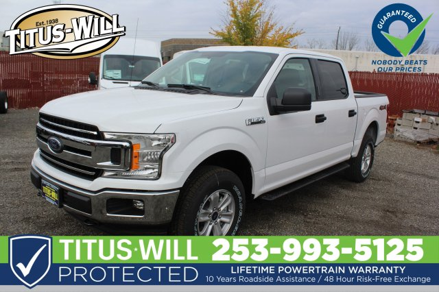 2018 F-150 SuperCrew Cab 4x4,  Pickup #F81418 - photo 1