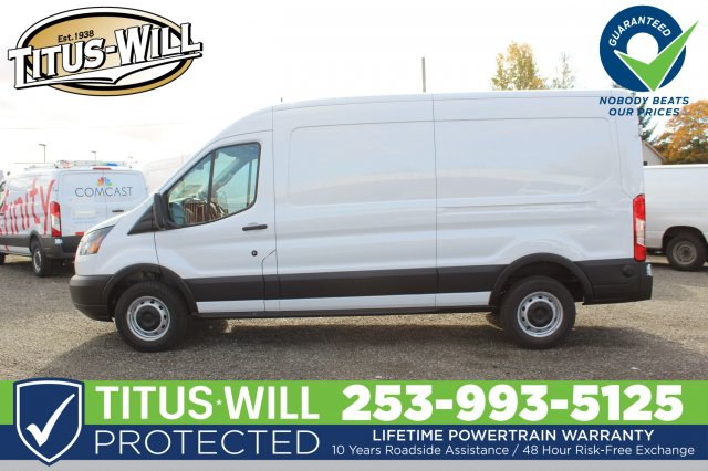 2019 Transit 250 Med Roof 4x2,  Empty Cargo Van #F90080 - photo 3