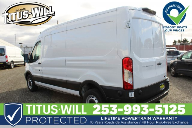 2019 Transit 250 Med Roof 4x2,  Empty Cargo Van #F90080 - photo 4