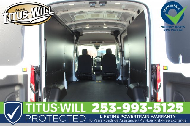 2019 Transit 250 Med Roof 4x2,  Empty Cargo Van #F90080 - photo 2