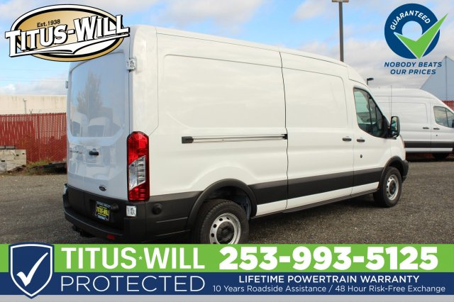 2019 Transit 250 Med Roof 4x2,  Empty Cargo Van #F90080 - photo 6