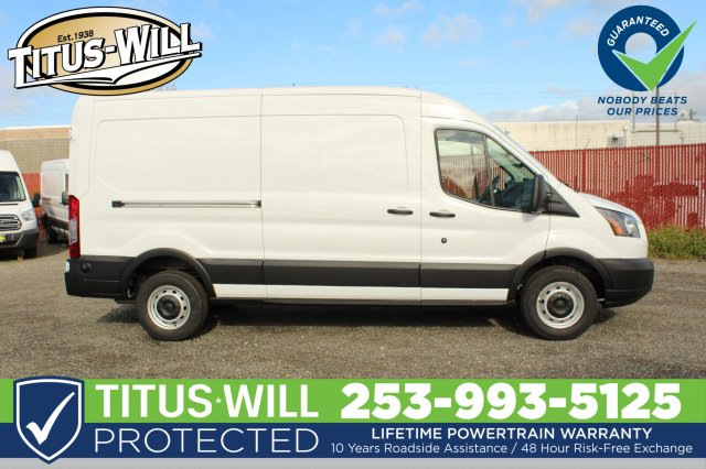 2019 Transit 250 Med Roof 4x2,  Empty Cargo Van #F90080 - photo 7