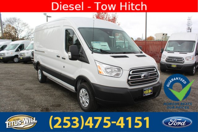 2019 Transit 250 Med Roof 4x2,  Empty Cargo Van #F90082 - photo 3