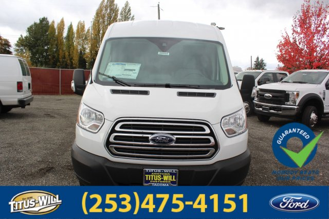 2019 Transit 250 Med Roof 4x2,  Empty Cargo Van #F90082 - photo 4