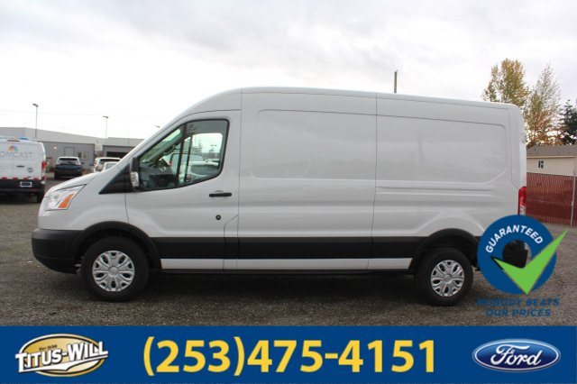 2019 Transit 250 Med Roof 4x2,  Empty Cargo Van #F90082 - photo 9