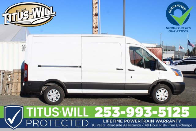 2019 Transit 250 Med Roof 4x2,  Empty Cargo Van #F90141 - photo 7