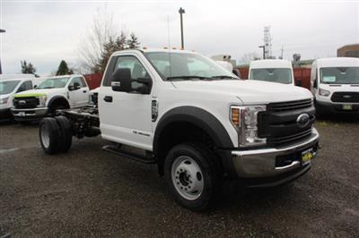 2019 F-550 Regular Cab DRW 4x4,  Cab Chassis #F90209 - photo 1
