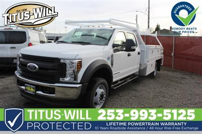 2019 F-450 Crew Cab DRW 4x4,  Scelzi CTFB Contractor Body #F90267 - photo 1