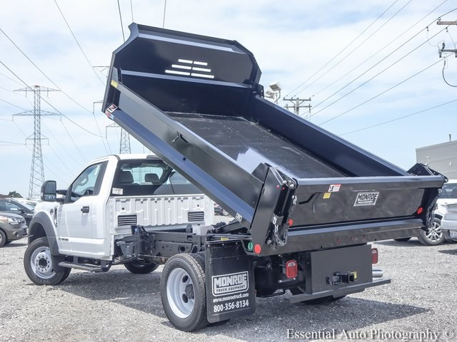 2018 F-550 Regular Cab DRW 4x2,  Monroe Dump Body #NDJ5649 - photo 9