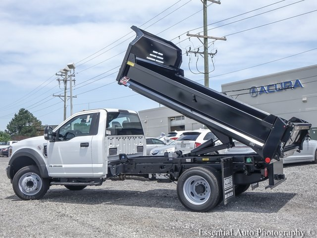 2018 F-550 Regular Cab DRW 4x2,  Monroe Dump Body #NDJ5649 - photo 11