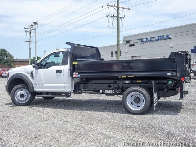 2018 F-550 Regular Cab DRW 4x2,  Monroe Dump Body #NDJ5649 - photo 2
