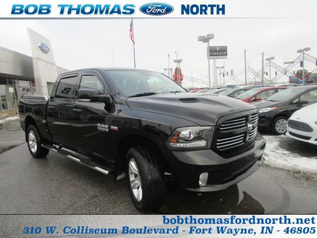 2014 Ram 1500 Crew Cab 4x4, Pickup #31462A - photo 26