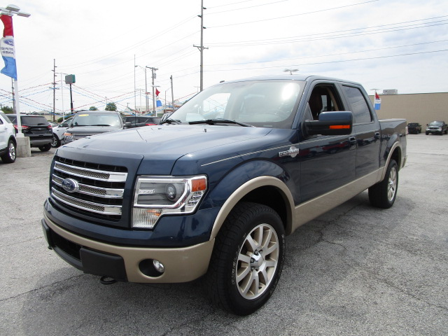 2014 F-150 SuperCrew Cab 4x4, Pickup #70623A - photo 4