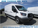 2018 Transit 250 Med Roof 4x2,  Empty Cargo Van #F31527 - photo 1