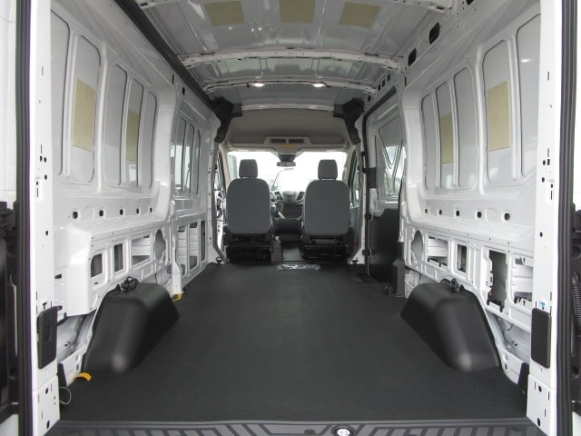 2018 Transit 250 Med Roof 4x2,  Empty Cargo Van #F31543 - photo 2