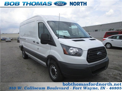 2018 Transit 250 Med Roof 4x2,  Empty Cargo Van #F31543 - photo 1