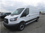 2018 Transit 250 Med Roof 4x2,  Empty Cargo Van #F31543 - photo 3