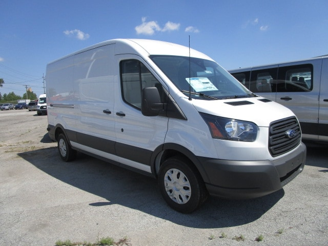 2018 Transit 250 Med Roof 4x2,  Empty Cargo Van #F31545 - photo 4