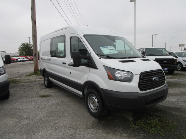 2018 Transit 350 Med Roof 4x2,  Empty Cargo Van #F31578 - photo 5