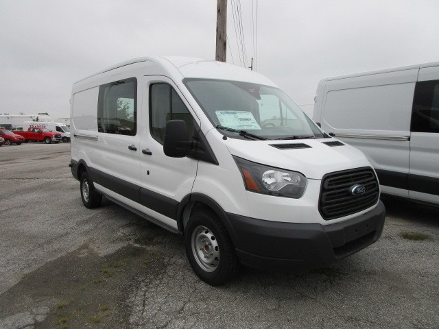 2018 Transit 250 Med Roof 4x2,  Empty Cargo Van #F31579 - photo 4