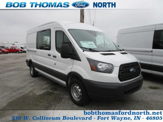2018 Transit 250 Med Roof 4x2,  Empty Cargo Van #F31579 - photo 1