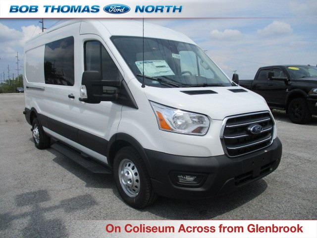 2020 Ford Transit 350 Med Roof AWD, Crew Van #F31999 - photo 1