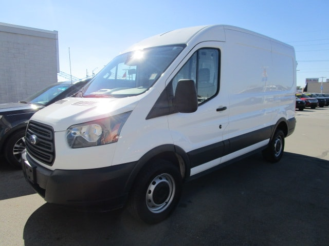 2018 Transit 250 Med Roof 4x2,  Empty Cargo Van #F9891 - photo 4