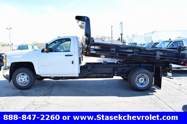 2017 Silverado 3500 Regular Cab, Rugby Dump Body #168558 - photo 11