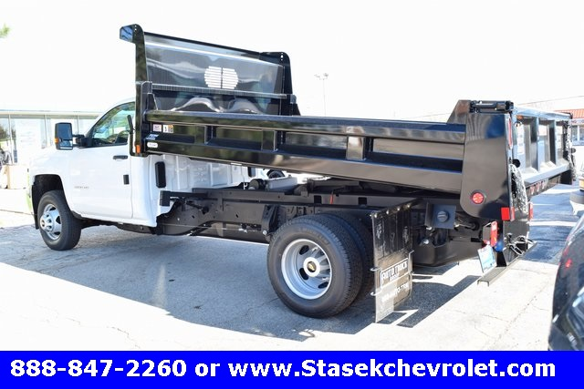 2017 Silverado 3500 Regular Cab, Rugby Dump Body #168558 - photo 2