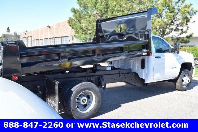 2017 Silverado 3500 Regular Cab, Rugby Dump Body #168558 - photo 15