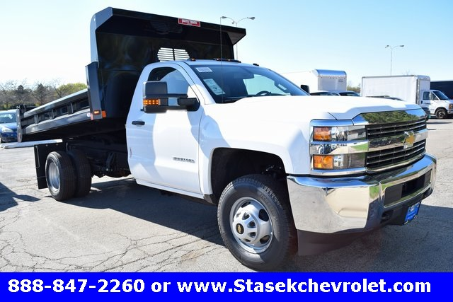 2017 Silverado 3500 Regular Cab, Rugby Dump Body #168558 - photo 3