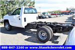 2017 Silverado 3500 Regular Cab 4x4, Cab Chassis #168623 - photo 1