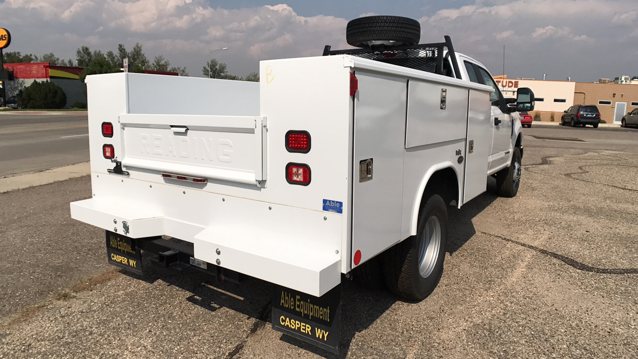 2017 F-350 Super Cab DRW 4x4, Reading Service Body #HEB80944 - photo 2